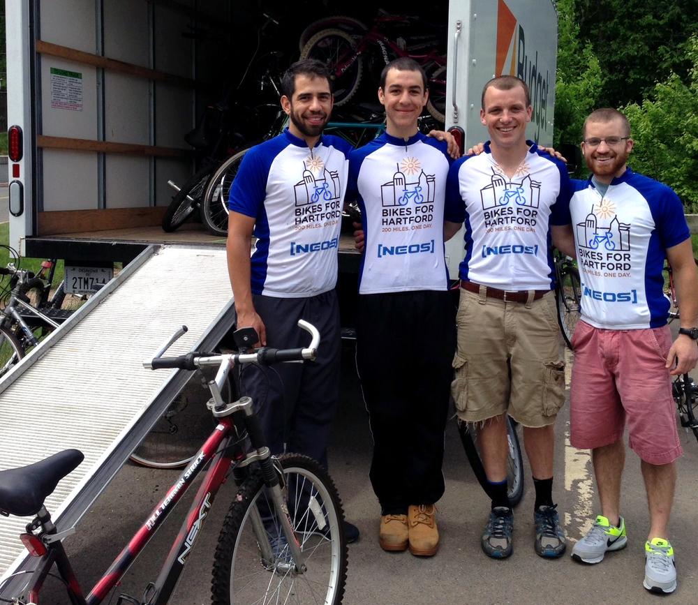 Riders - Chris, Andy, Pat, & Tim