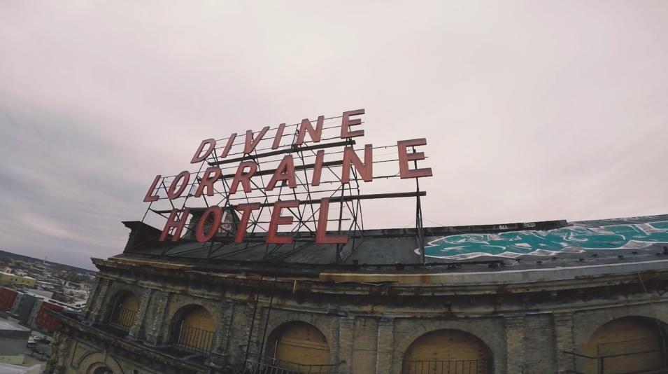 "Divine Lorraine Hotel ""Drone Race"""