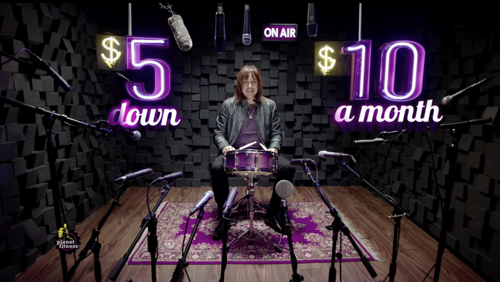 "Planet Fitness ""Drum Roll"" TV Spot"
