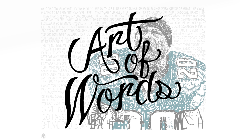 "Art of Words ""Brand Campaign"""