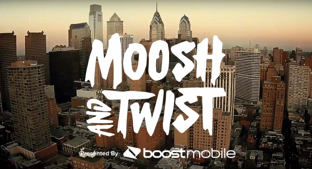 "Boost Mobile ""Moosh & Twist"""