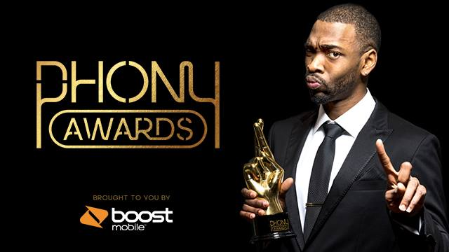 "BOOST MOBILE ""PHONY AWARDS"""