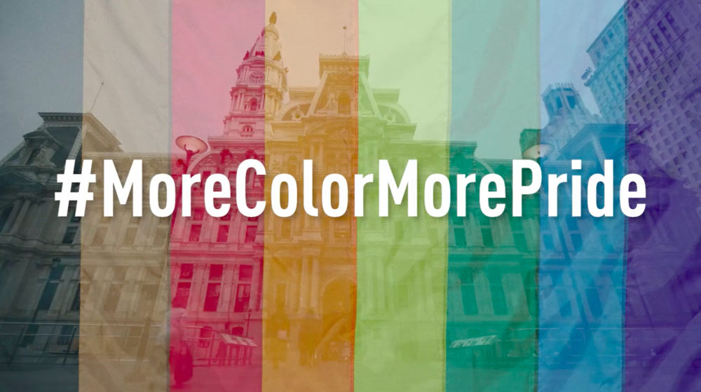 "CITY OF PHL ""MORE COLOR MORE PRIDE"""