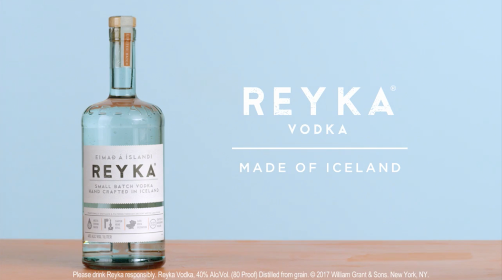 "REYKA VODKA ""PORTLAND TV"""