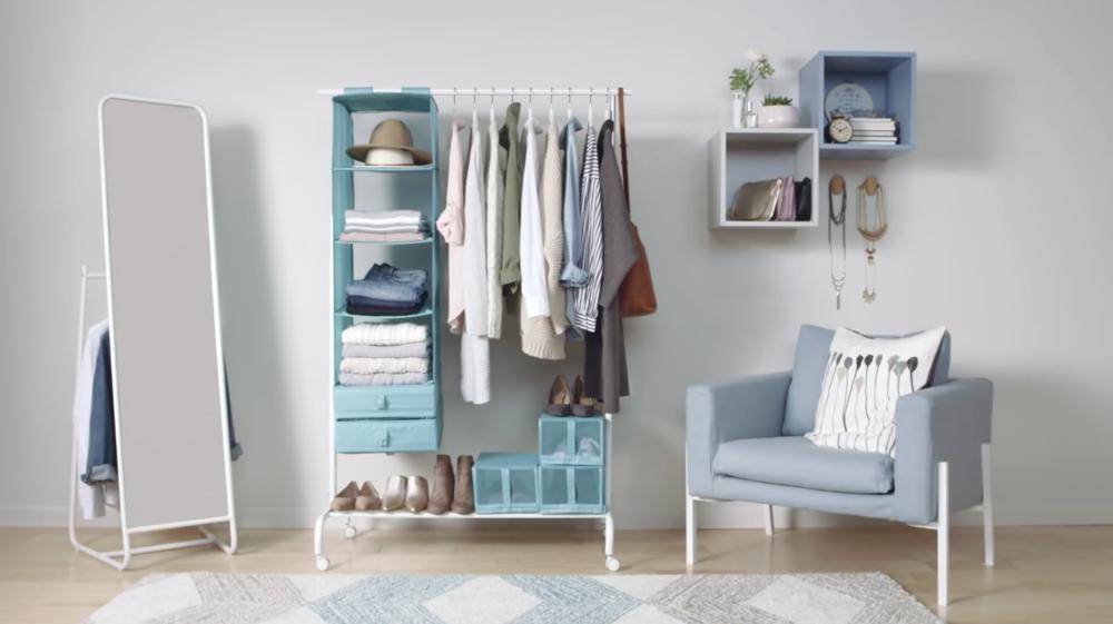 """IKEA """"No Closet"""""""