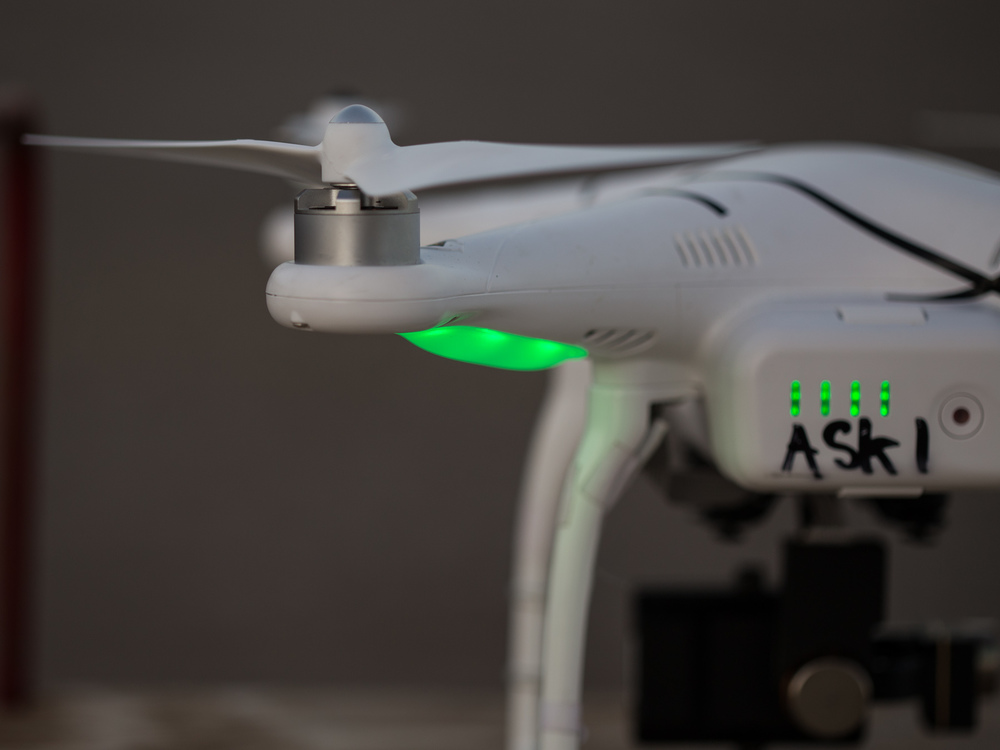 Back view of the Phantom 2.