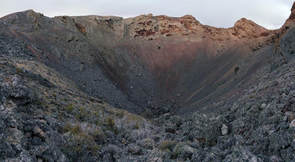 Crater Morada del Diablo.