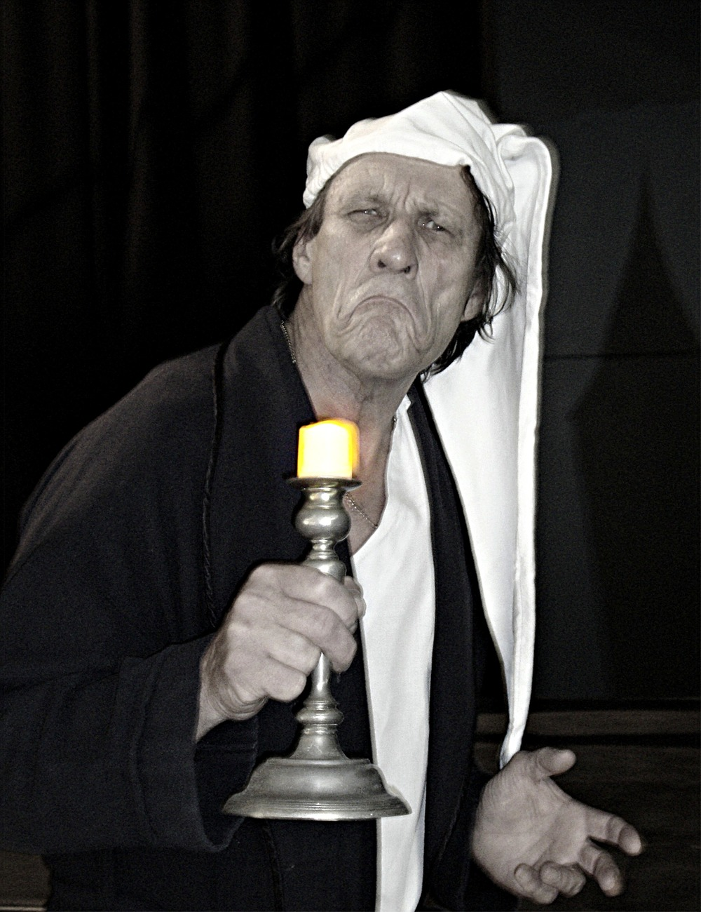 Willy Smeets plays Scrooge in  A Christmas Carol  this November. Picture: Sarah Christiner