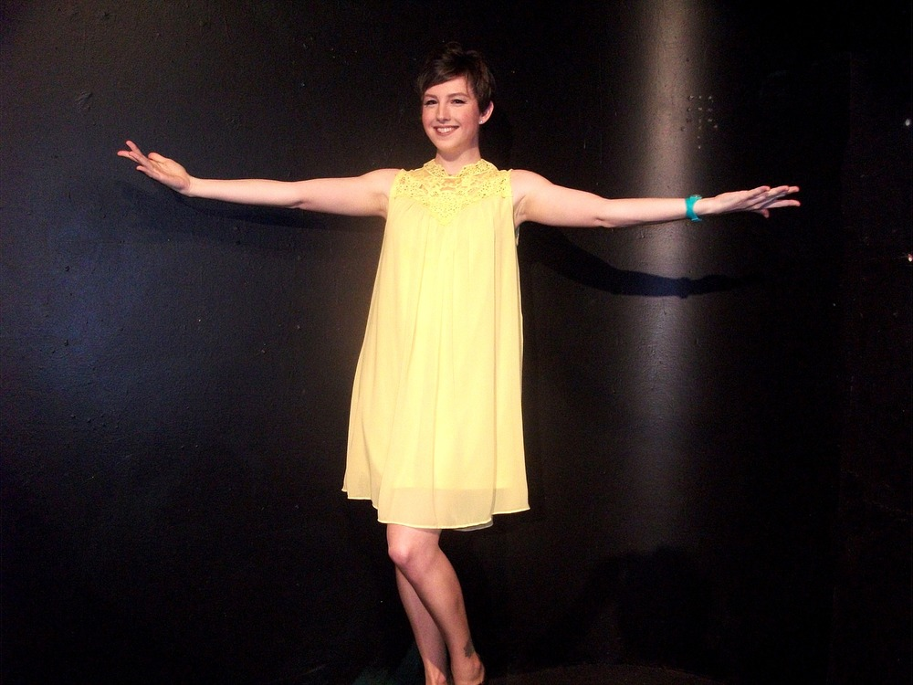 Helen Kerr plays Charity Valentine, searching for love, in Sweet Charity.