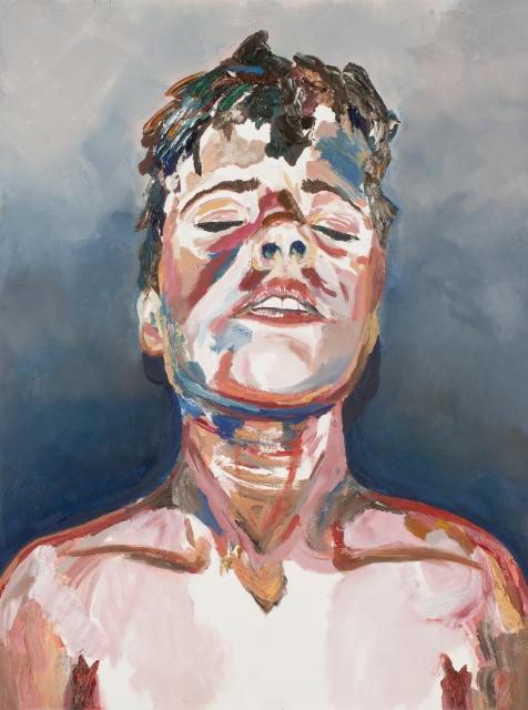Gabrielle Butler  Geraldton Grammar School  Submerged  2015 oil on canvas 122 x 91 cm