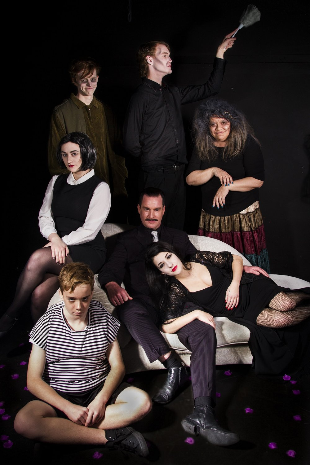 A musical version of  The Addams Family  comes alive in November and December.  Picture: Joanna Kate Harrison