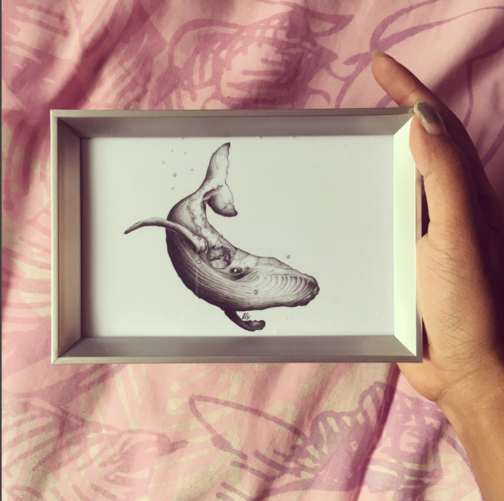 Lorraine Angelina Designs - Graduating with a degree in economics and management I decided to turn my hobby into a business last year which allowed me to share my love for drawing with everyone. I am inspired by animals, nature and the universe which features a lot in my art. I take something