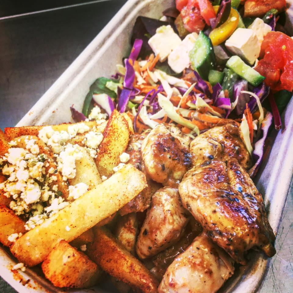 Greek Streats - The legendary George's Kebabs from Curtin University have gone mobile! Presenting Greek Streats, serving up traditional souvlakia and much more.