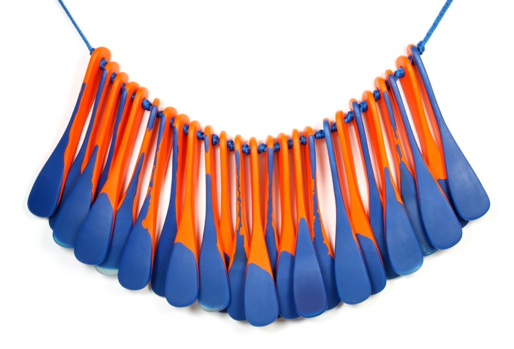 Dinosaur Designs   Collar bone  2014. State Art Collection, Art Gallery of Western Australia. Purchased through the Peter Fogarty Design Fund, Art Gallery of Western Australia Foundation, 2014. © Dinosaur Designs 2014.