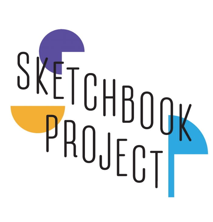 Sketchbook Project   [Graphic by  Melissa Waldron ]