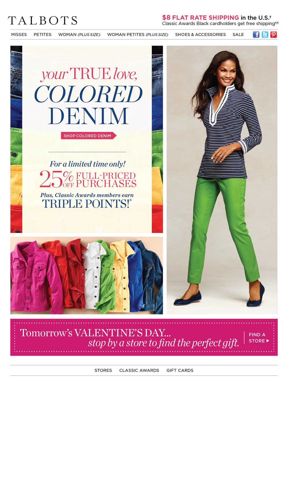 Color Denim Email