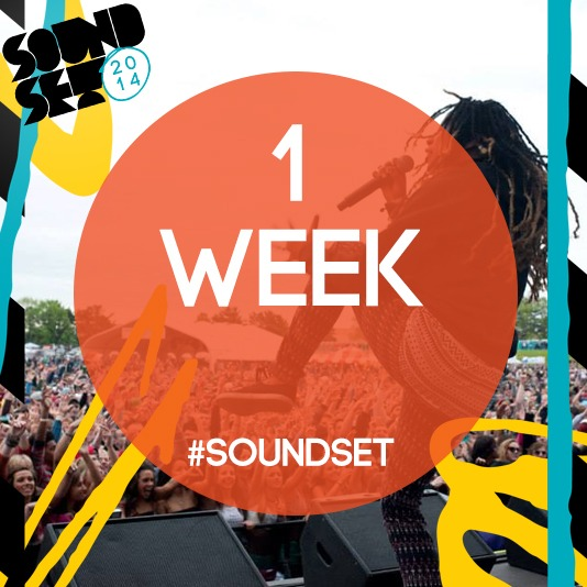 soundsetfestival :      Only ONE WEEK left until  Soundset !   TODAY (May 18th) is your very LAST DAY to pick up your tickets before the prices go up from $55 to $70! You have until 11:59pm (CST) tonight to get them online via Ticketweb at   http://bit.ly/Soundset2014    You can also get them in-store at  Fifth Element    (2411 Hennepin Ave S) in Minneapolis from 12-6pm.    (Photo: Jules Ameel)