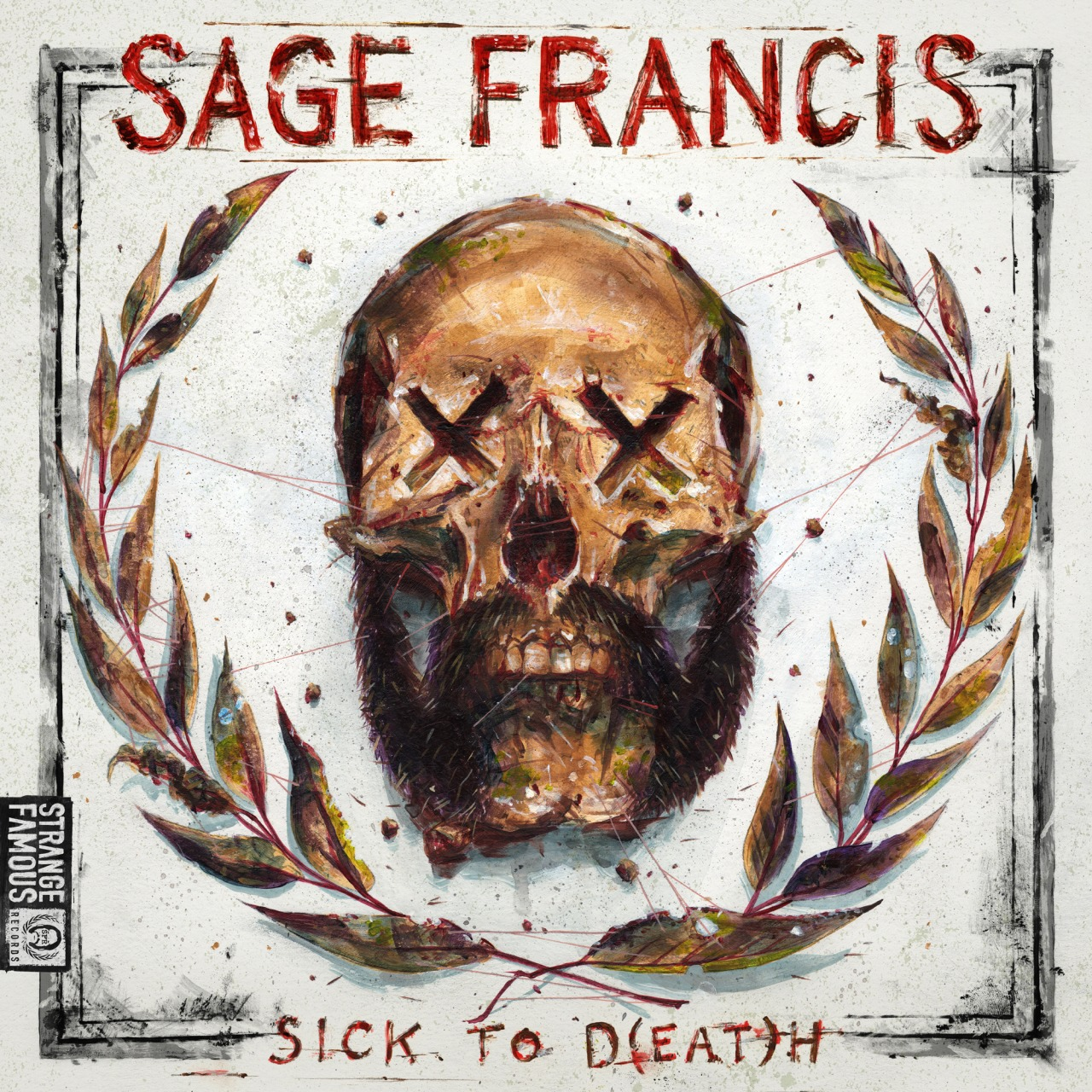 sagefrancis :     New mixtape! SICK TO D(EAT)H drops on Dec 12th, 2013. CD, MP3, cassette tape package deals available now along with a free download at  www.StrangeFamousRecords.com