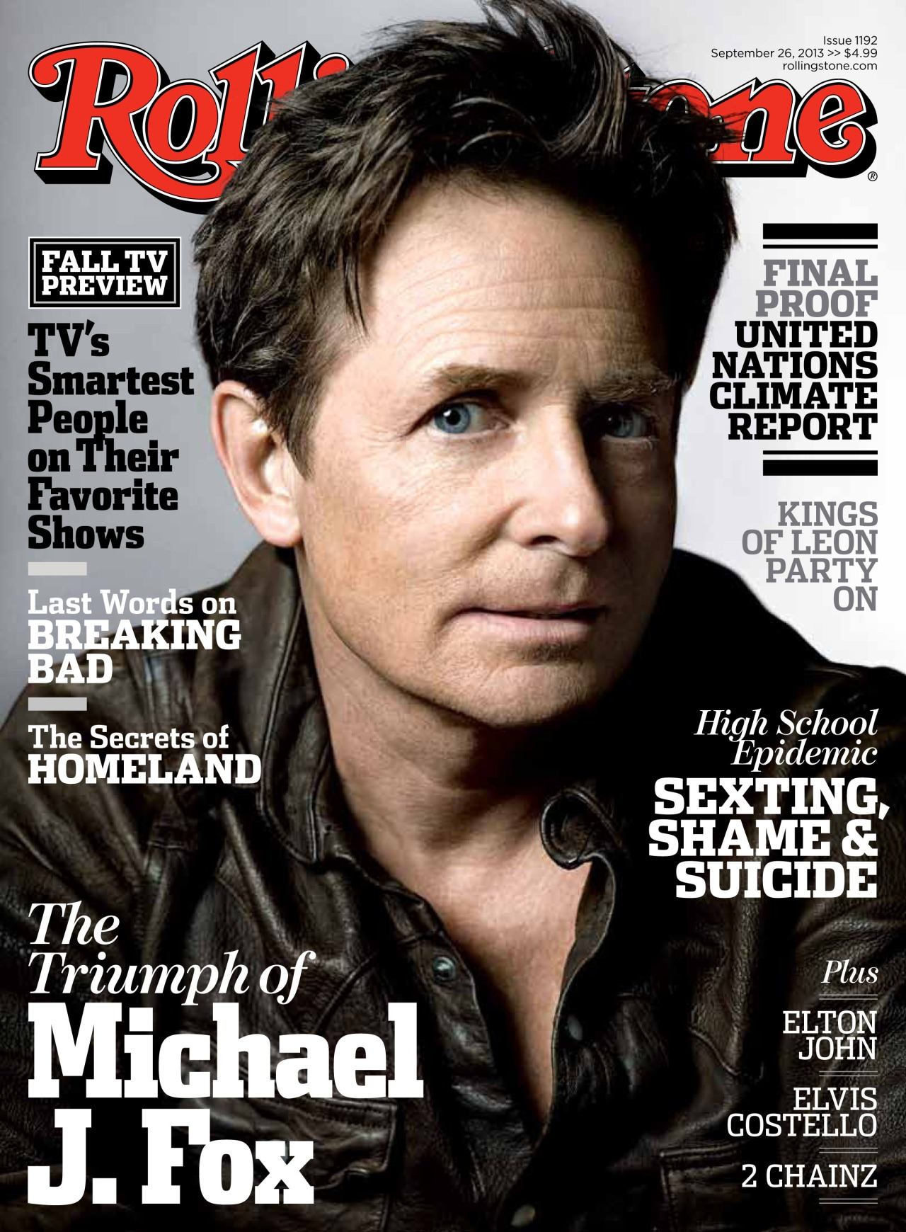 "rollingstone :      Our new cover story, on stands Friday, offers an in-depth, intimate look at Michael J. Fox's life and career as he prepares for one of the most remarkable comebacks in showbiz history: Twenty-two years after Fox was diagnosed with Parkinson's disease – when his doctor warned that he had no more than 10 years left of his acting career – he's returning to TV full-time with NBC's  The Michael J. Fox Show .  ""People said, 'Are you sure you can handle this?'"" Fox recalls. ""'Are you sure you can take it on? Are you sure you can deal with it?' And I said, 'No. I'm not sure I can, but I want to and I have an opportunity to.'"""