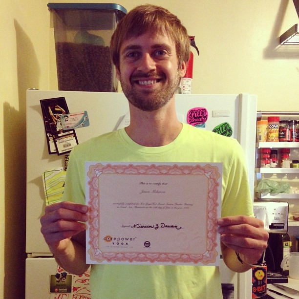 I am now certified to teach hot yoga. This has been a life changing, humbling experience. I hope to find a way to teach fellow musicians yoga to stay healthy on the road. I've also been thinking about finding a way to start a program to teach free-yoga classes to single-parents (especially single mom's) Big thanks to all my friends @corepoweryoga for pushing me through this.