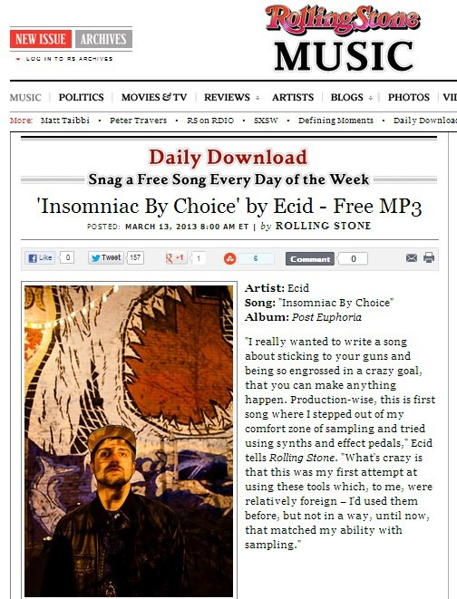 Rolling Stone.com - track of the day.jpg