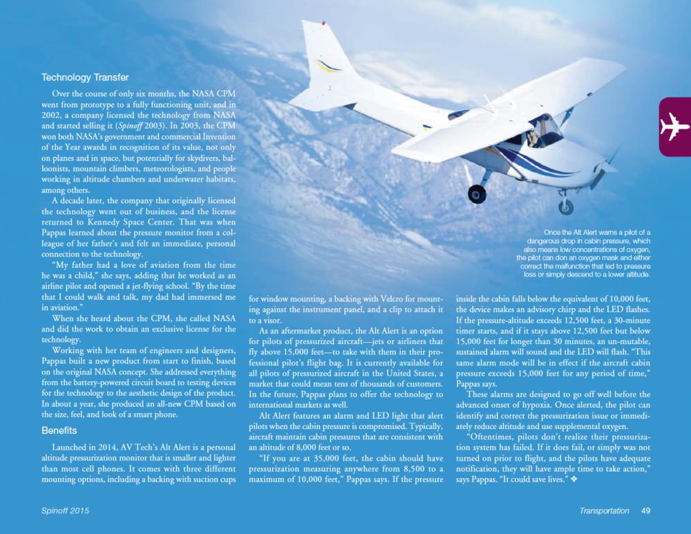 Download PDF of NASA Spinoff 2015 Article