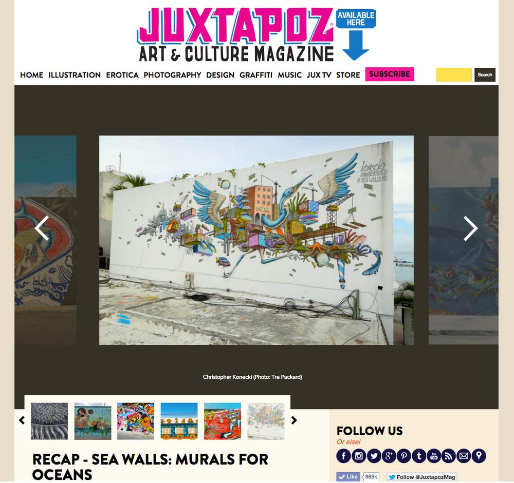 http://www.juxtapoz.com/street-art/recap-sea-walls-murals-for-oceans