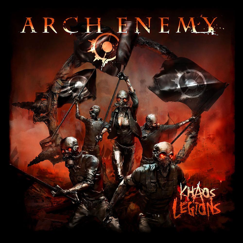 arch enemy khaos legions album cover brent elliott white
