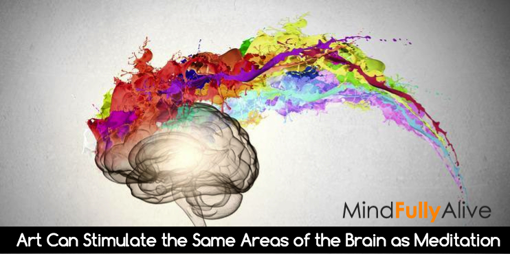 Art Can Stimulate the Same Areas of the Brain as Meditation