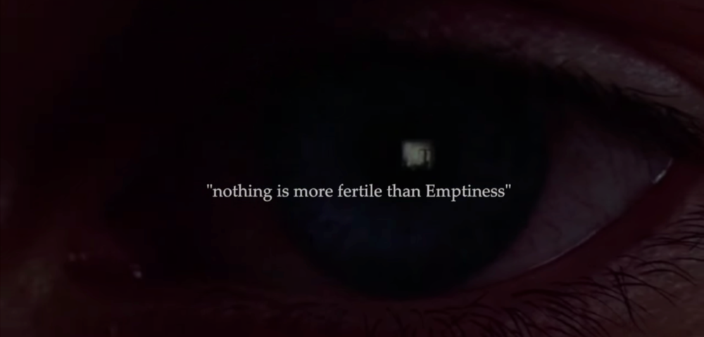 Nothing is more fertile than Emptiness