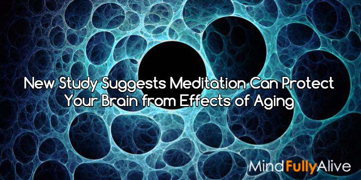 New Study Suggests Meditation Can Protect Your Brain from Effects of Aging