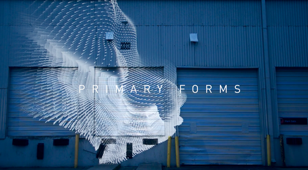 """Primary Forms"" Art Installation at @dayfornightfest by @markeats #mindful #art"
