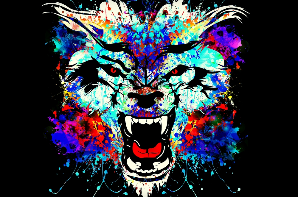 One neurological wolf responds with fear to everything that is different, unusual, or new.