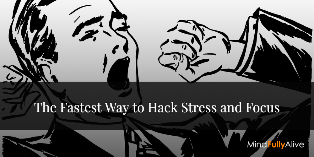 Yawning is The Fastest Way to Hack Mental #Stress and #Focus
