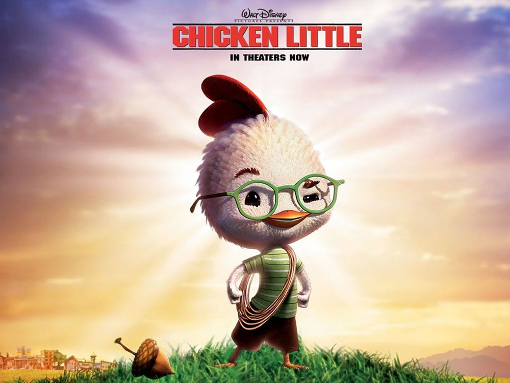Et tu,  Chicken Little? Is this where it all began?