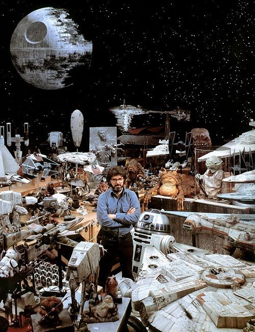 Known hoarder, George Lucas.