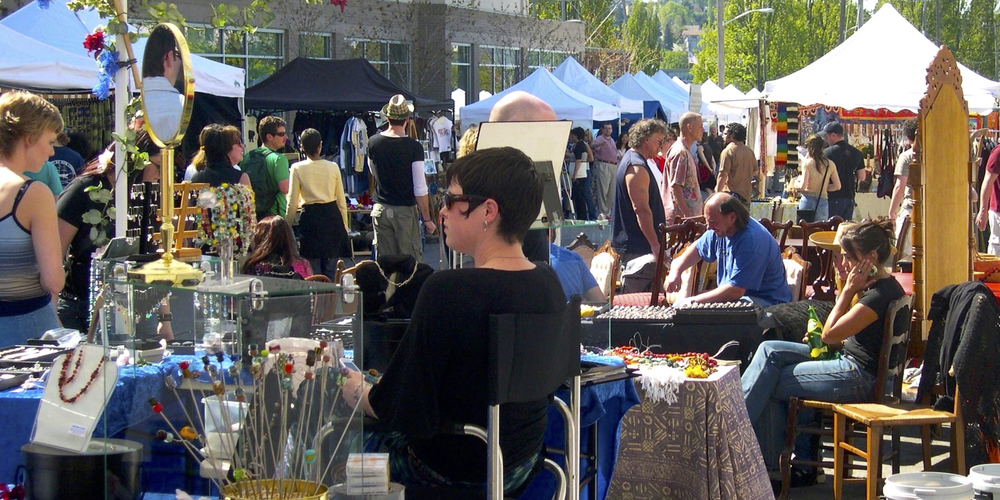 THE SUNDAY FLEA MARKET: SEATTLE'S BEST TREASURE HUNT...