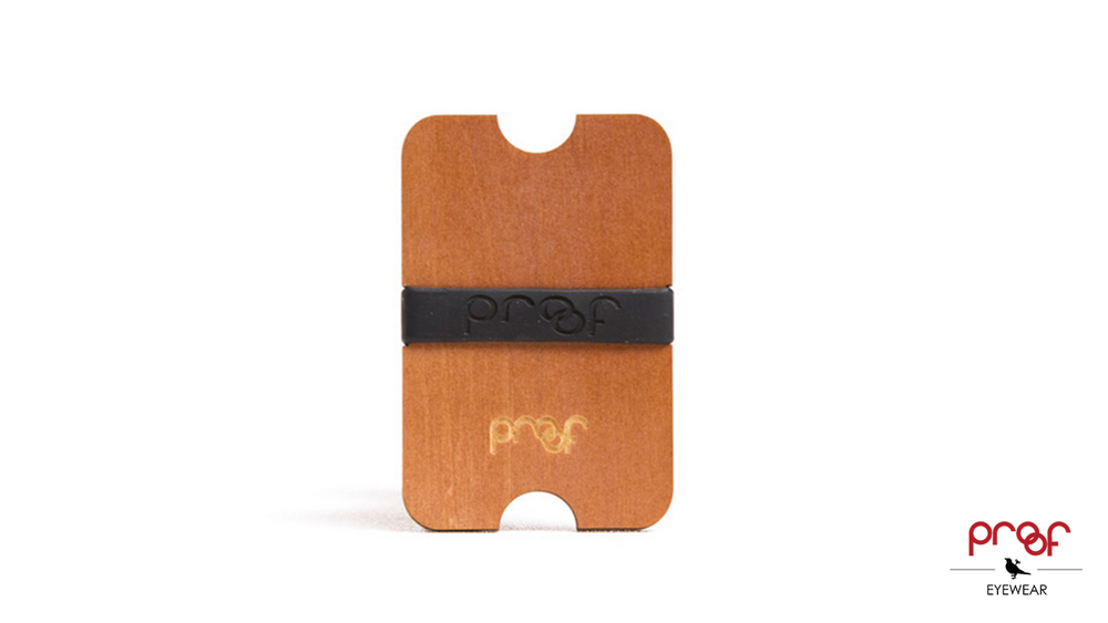 Proof Wood Wallet