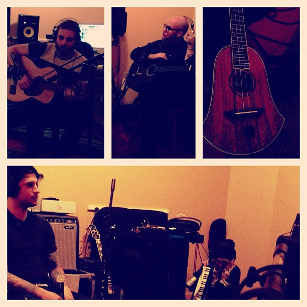 Recording. (Taken with instagram)