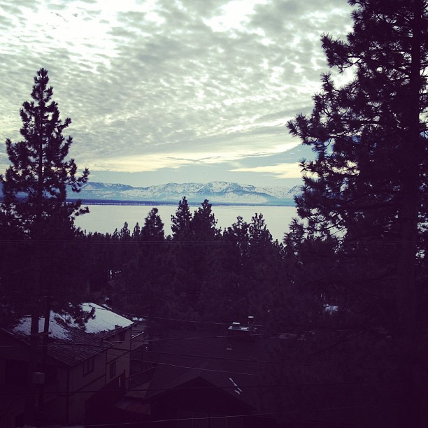 This doesn't suck. #laketahoe (Taken with instagram)