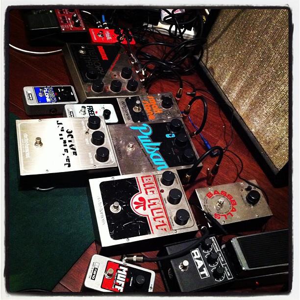 Electro Harmonix party. (Taken with  Instagram )