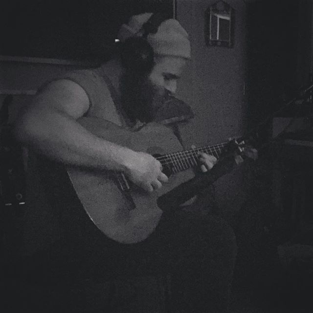@residentpeasant making some magic happen #new album #newmusic #mysatellite #residentpeasant #tameimpala #radiohead #sade #classicalguitar