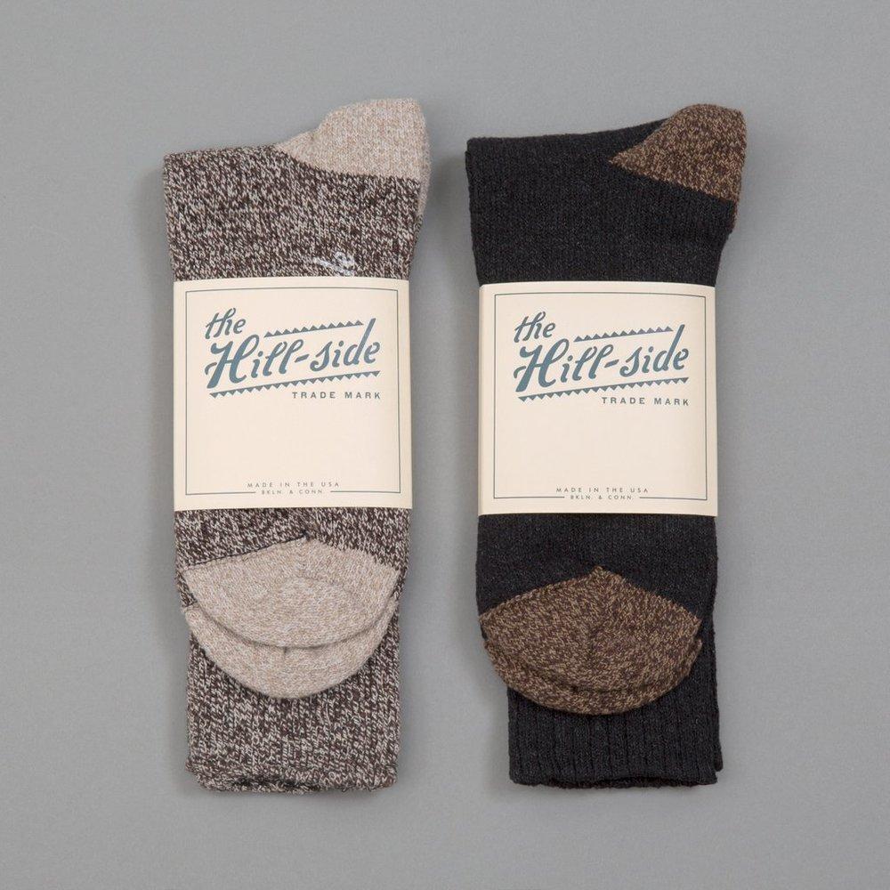 Hill-Side: 2-Pack Socks - $24
