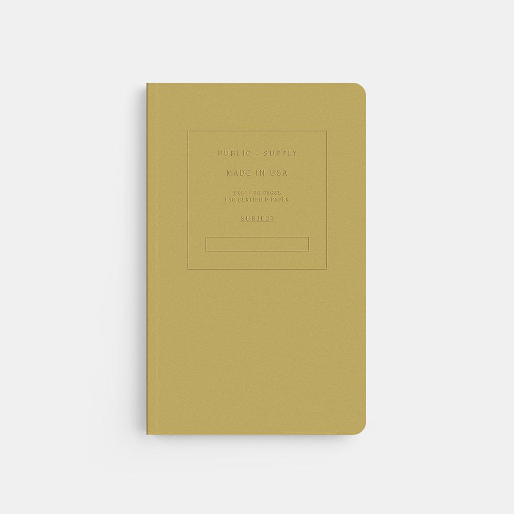 "Public Supply: 5 x 8"" Notebook - $16"