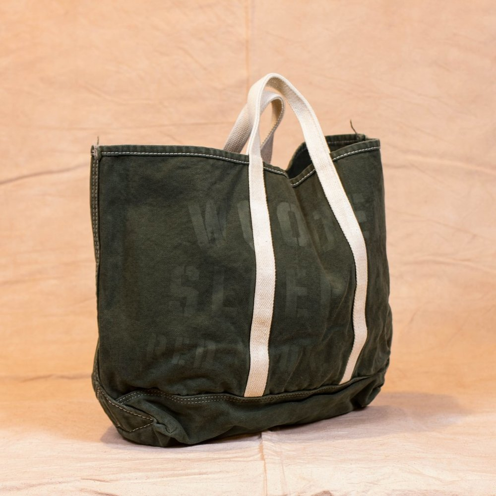 Wooden Sleepers: Canvas Tote - $115