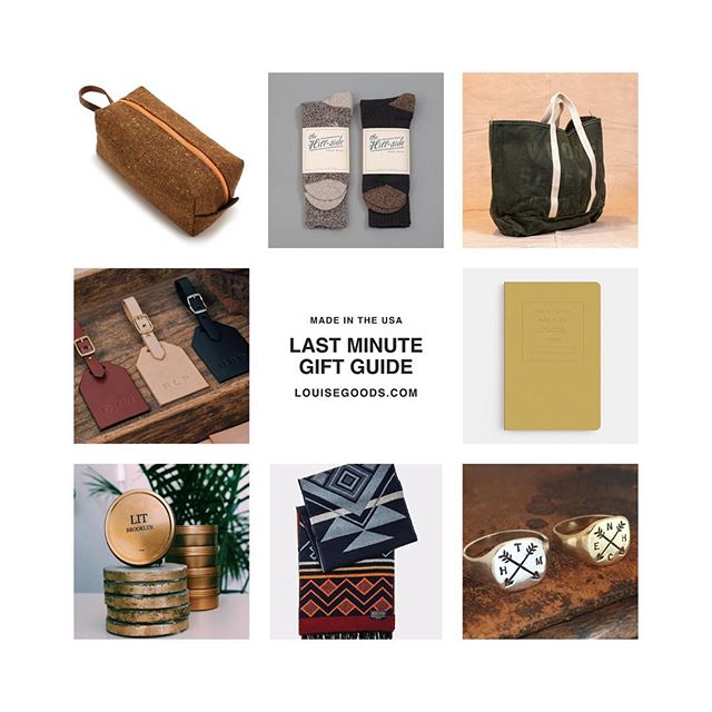got a last minute round up of some of my favorite gifts for the holiday, all from american owned brands and all products made in the USA! support small American made businesses this holiday 🖤 link to gift guide is in the bio!