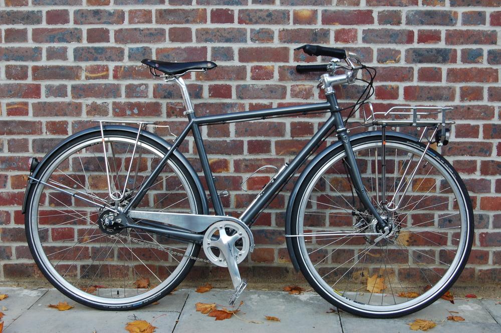 Modern Town Bike