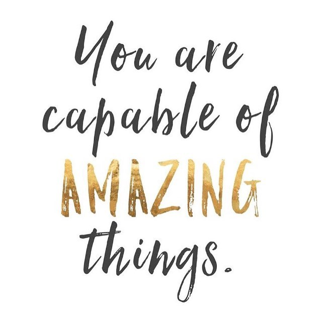 Yes you ALL are! 💚🙌🏽🙋🏽⭐️✨ #mondaymotivation