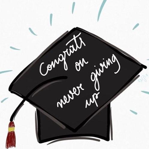 Happy Graduation to everyone celebrating this season!!! 💚😍🎉🙌🏽