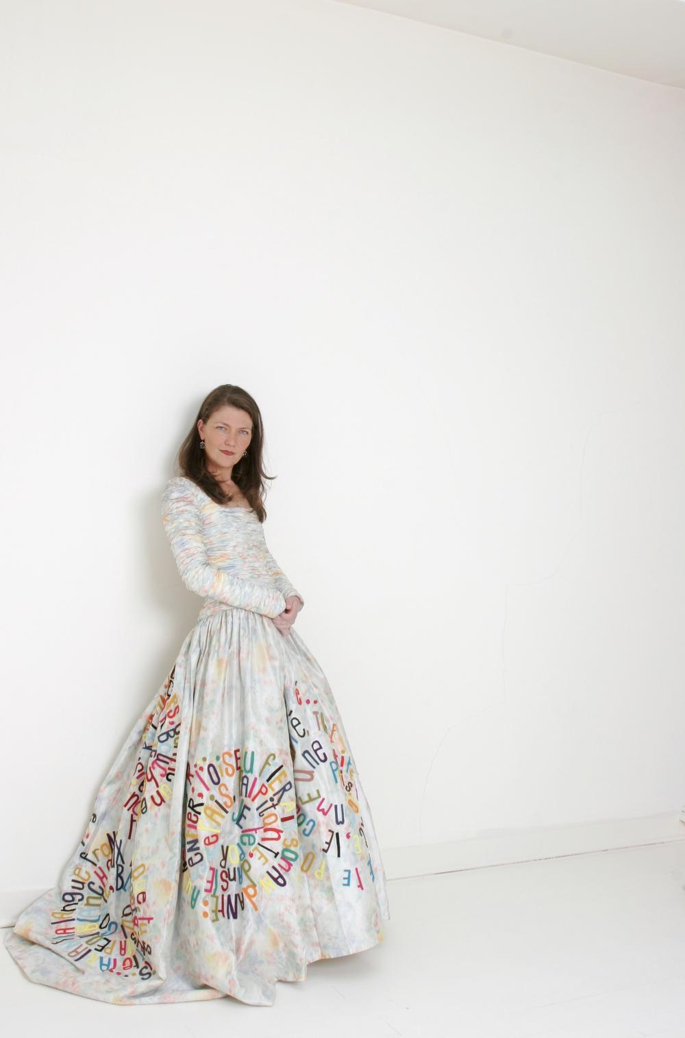 Kate Daudy - Portrait in Dress